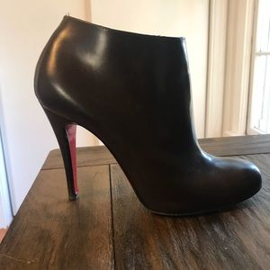 Christian Louboutin Shoes - Christian Louboutin Belle Round Toe Bootie